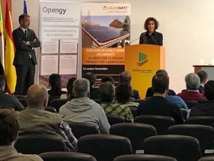 La consejera de Economía e Infraestructuras considera que el autoconsumo eléctrico ha entrado en una etapa de crecimiento en Extremadura