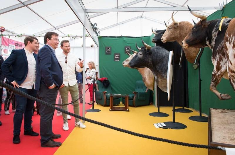 Fernández Vara destaca la vinculación de Coria con la tauromaquia a través de su Feria del Toro y Los Sanjuanes