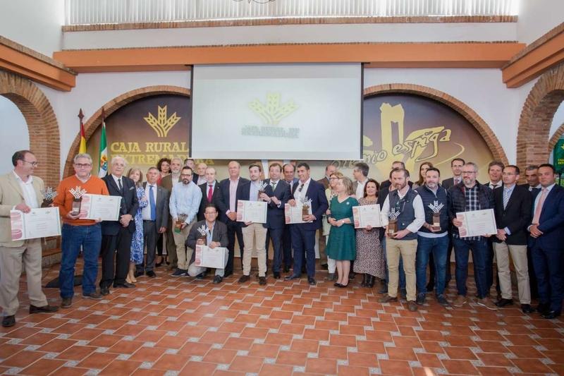 Entregados los 'I Premios Espiga Quesos' de Caja Rural de Extremadura