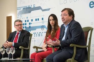 Fernández Vara destaca la oportunidad de creación de empleo que representa el sector energético