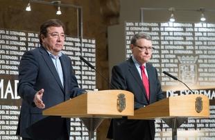 Fernández Vara sitúa a Extremadura como ''un referente'' en el campo de la economía verde y las energías limpias