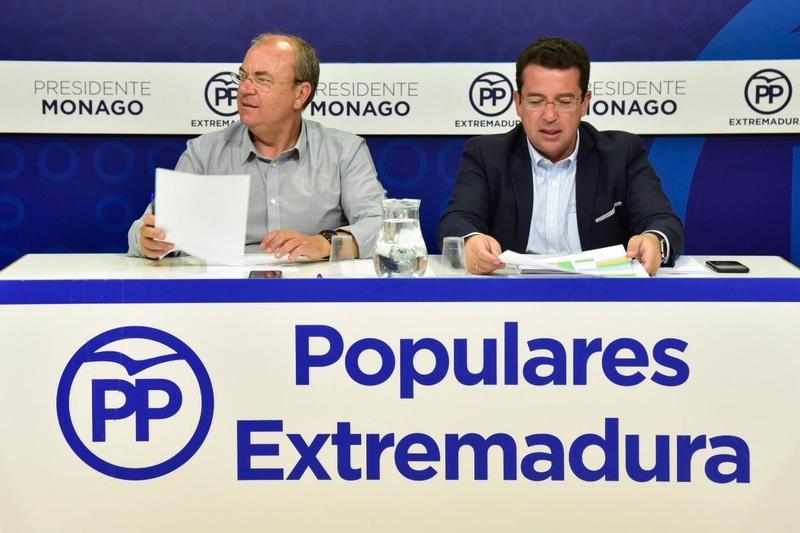Monago propone que el próximo programa operativo tenga en cuenta el problema de la despoblación