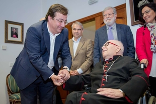 Vara destaca la labor de diálogo y consenso realizada por monseñor Antonio Montero como arzobispo de Mérida-Badajoz