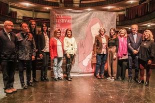 La consejera de Cultura asiste a la presentación de la trigésima edición del Festival de Teatro Clásico de Cáceres