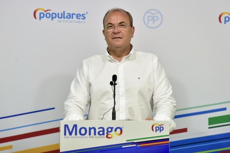 Monago anuncia que ''rescindirá el concurso'' del transporte sanitario terrestre a Tenorio si es presidente tras el 26-M