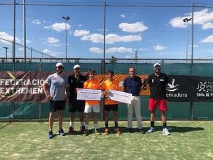 Este fin de semana se ha disputado el campeonato de Extremadura cadete con victoria de Lidia Gómez y Fernando Bulnes