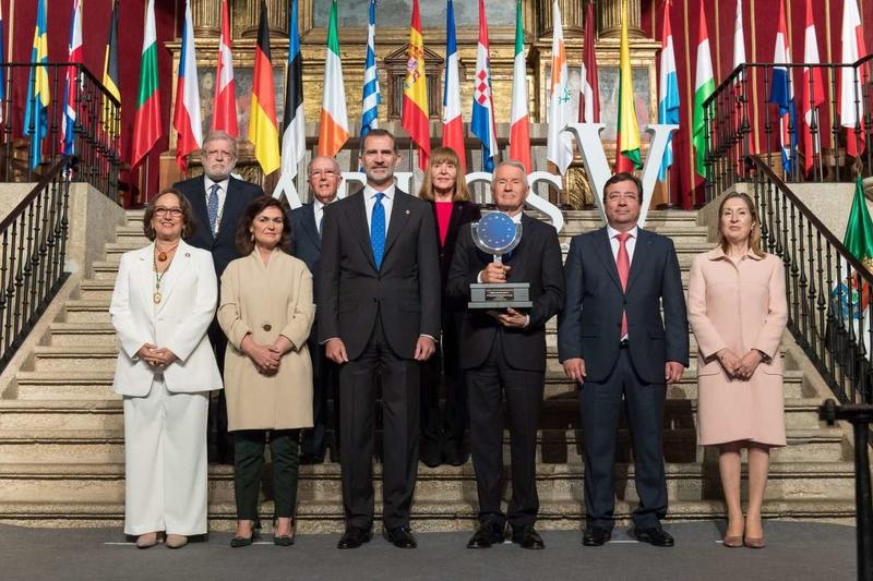 Vara aboga en el Día de Europa por tender puentes, estrechar lazos y compartir conocimientos como claves para el progreso