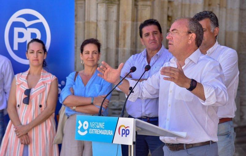 Monago anuncia 3.000 plazas nuevas de Formación Profesional para incrementar las oportunidades laborales