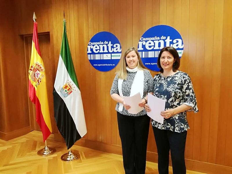 La Junta de Extremadura colabora en la Campaña de la Renta 2018 con 15 puestos de atención al contribuyente