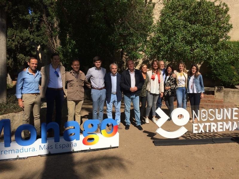 Monago destaca la despoblación como principal problema de Extremadura