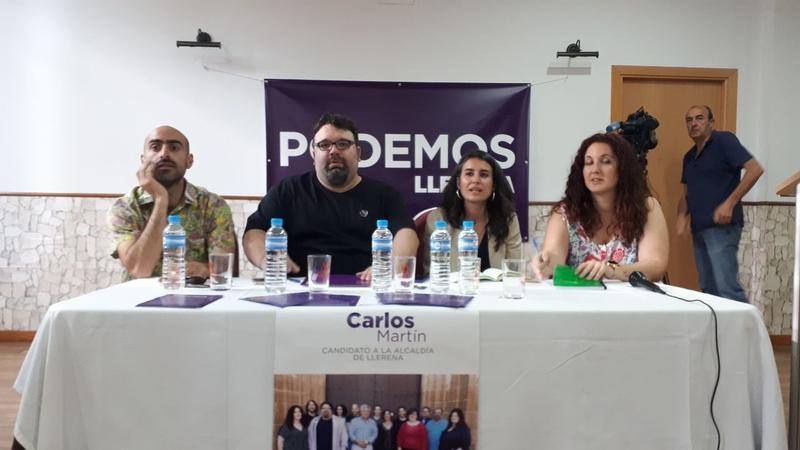 Irene de Miguel: 'El único voto útil y seguro es Unidas por Extremadura'