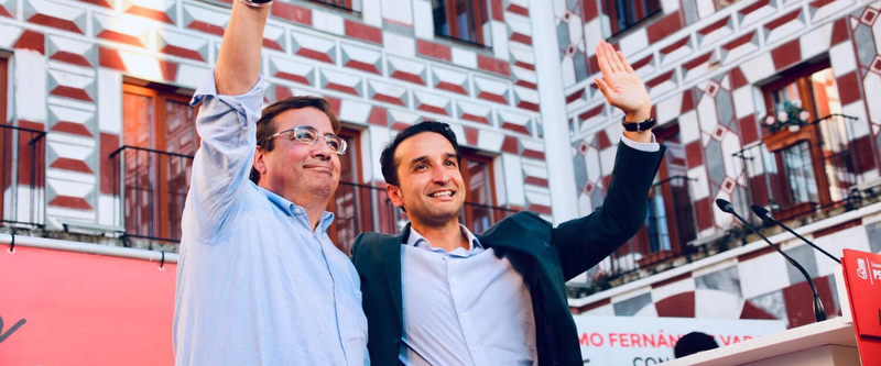 'Hubo un gobierno de derechas que dejó a Extremadura en la ruina económica y social porque Izquierda Unida quiso'