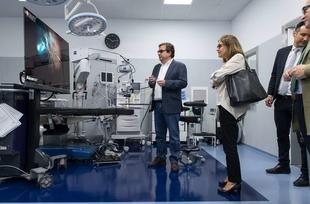 Fernández Vara destaca la ciudad de Badajoz como un importante referente sanitario en la Península Ibérica