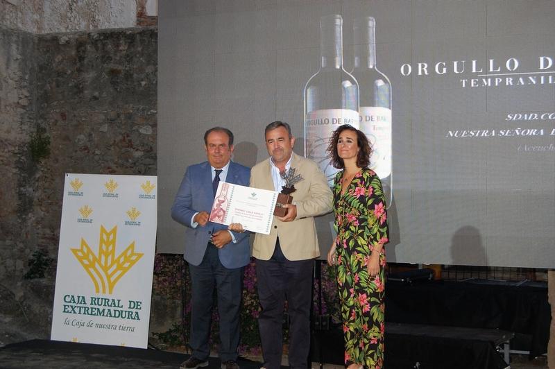 ''Orgullo de Barros'' galardonado con el premio Gran Espiga al mejor vino DO Ribera del Guadiana
