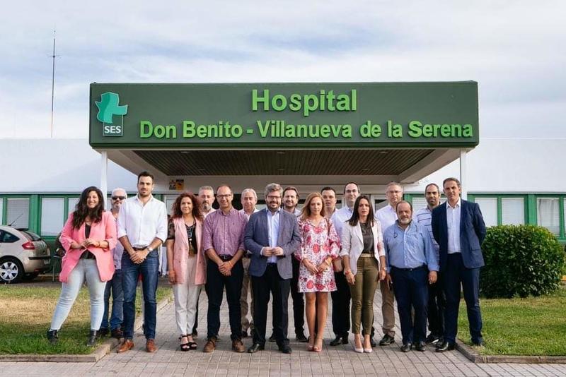 Las agrupaciones de Cs Don Benito y Villanueva se concentran para exigir a la Junta un hospital ''digno y de calidad''
