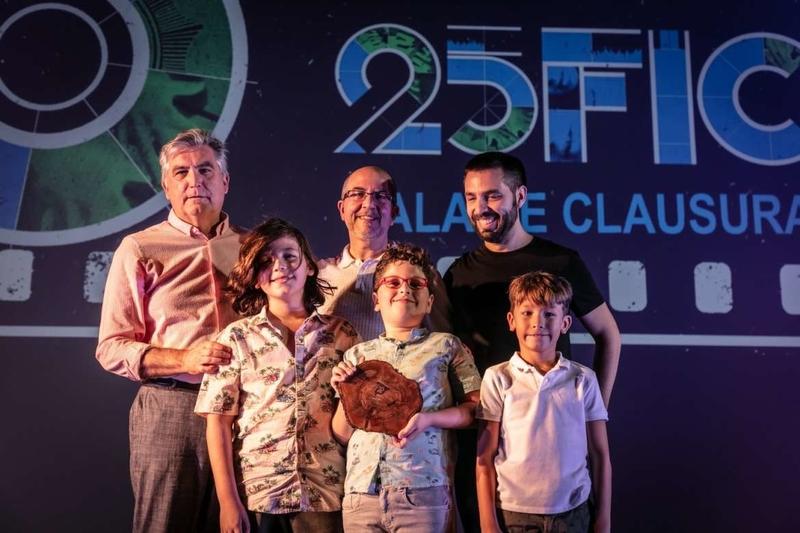 La consejera de Cultura, Turismo y Deportes asistió a la gala de clausura del 25º Festival Ibérico de Cine