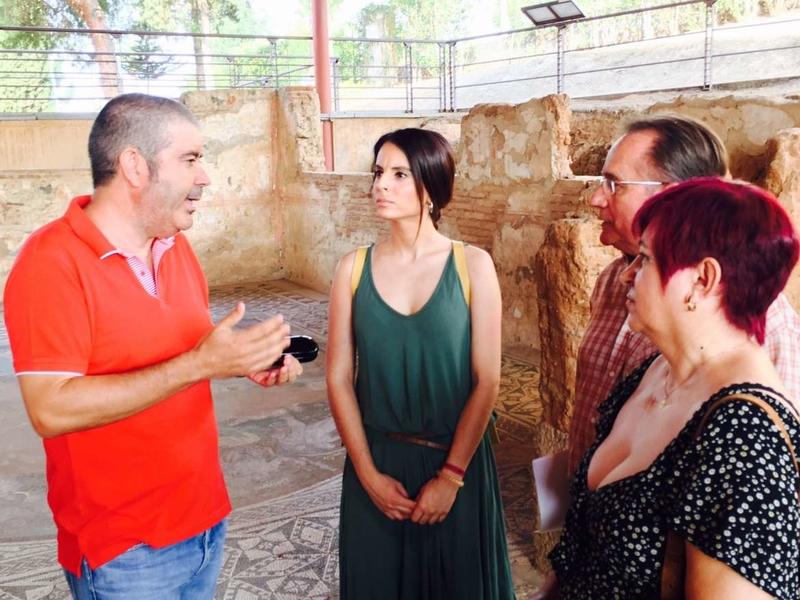 Nuria Flores valora la implicación de la juventud en la recuperación del patrimonio extremeño