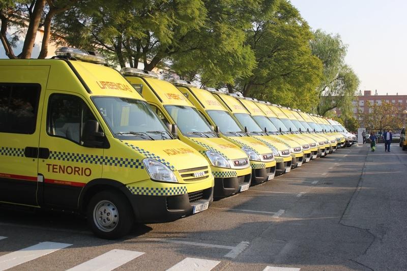 Cs Extremadura apoya las reivindicaciones de los trabajadores de ambulancias Tenorio