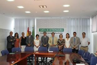 José María Vergeles detalla los retos inmediatos de la sanidad extremeña en las ocho áreas de salud