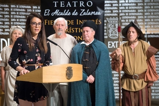 La representación de 'El alcalde de Zalamea' llega a su vigesimosexta edición con la declaración como Fiesta de Interés Turístico Nacional