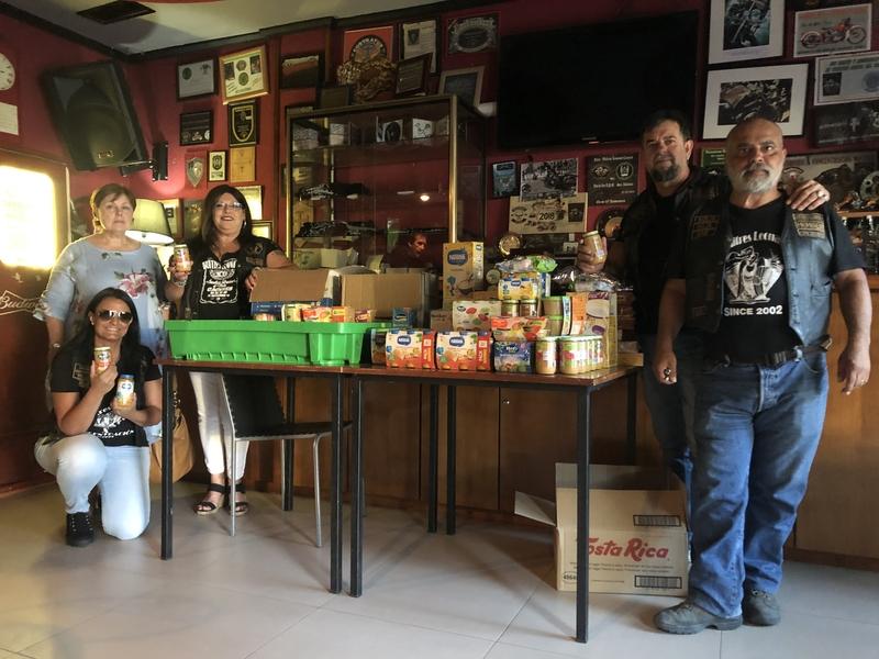 Continua la campaña de recogida de potitos promovida por la asociación Moto Club Buitres Leonaos