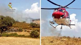 La Guardia Civil detuvo e investigó a un total de 38 personas por su implicación en incendios forestales en lo que va de año