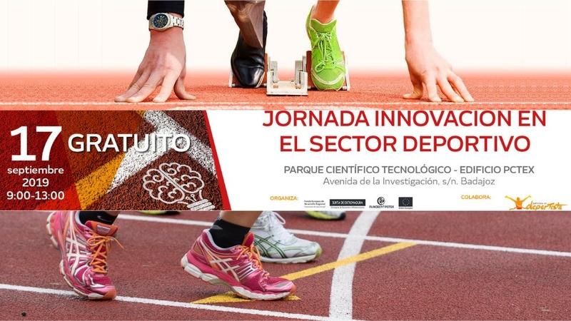 La Oficina para la Innovación de Fundecyt-PCTEX celebrará el 17 de septiembre la primera 'Jornada sobre Innovación en el Sector Deportivo'