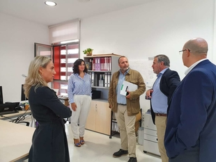 Rafael España señala que la nueva Oficina de Proyectos Europeos de la UEx pretende la promoción europea de la I+D+i