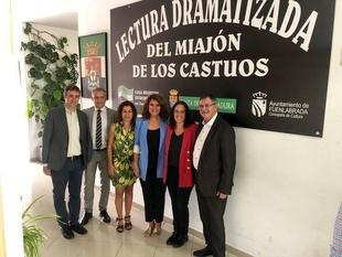 Rosa Balas acompaña a los extremeños en Fuenlabrada en las celebraciones del Día de Extremadura