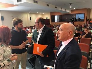 La Junta de Extremadura inspecciona 382 masas de agua para detectar la presencia de camalote en las cuencas del Guadiana y el Tajo