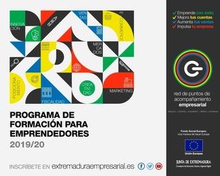 La Junta de Extremadura pone en marcha el Programa Formativo para Emprendedores y Empresas de Extremadura 2019/2020