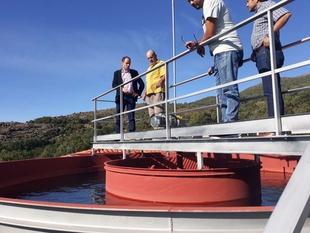 El director general de Planificación e Infraestructuras Hidráulicas visita las obras de mejora de abastecimiento a El Torno y El Rebollar