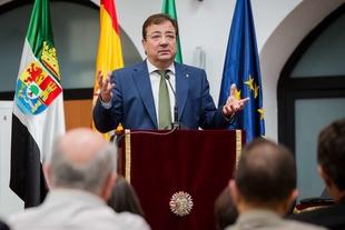 Fernández Vara aboga por una fiscalidad justa para lograr una democracia libre y de progreso