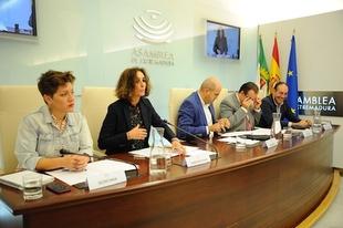 Olga García destaca el momento de 'intensa implantación' de energía renovable que está viviendo Extremadura