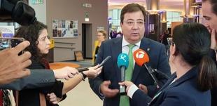 Fernández Vara reclama en Bruselas los fondos necesarios para las infraestructuras sanitarias de la región