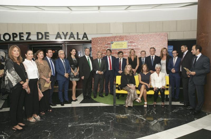 La ONCE homenajea a la sociedad extremeña por su gran solidaridad