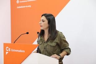 Calderón (Cs): ''Es vergonzoso el uso electoralista que Vara y Sánchez están haciendo del tren''