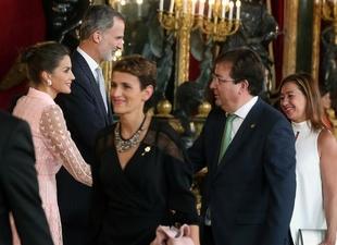 Fernández Vara asiste en Madrid a los actos conmemorativos del 12 de octubre