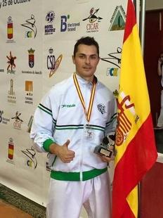 El karateca Manuel Rasero, nombrado Premio Extremadura del Deporte 2018