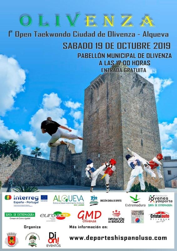Taekwondo y Trail solidario este fin de semana en Olivenza