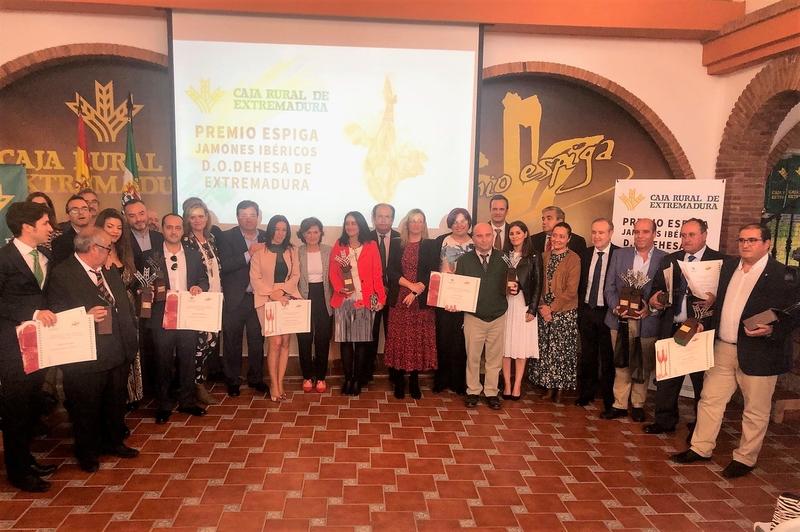 Sierra Extremeña SL y ''Extrem'' de Bonaval galardonados con los Premios Espiga al mejor Jamón y Cava con Denominación de Origen