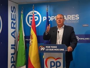 Monago pregunta si el nuevo gobierno de coalición apostará por la alta velocidad en Extremadura