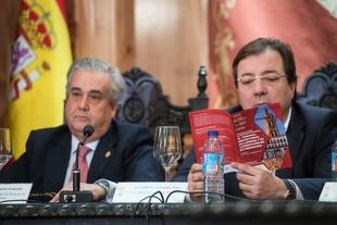 El presidente de la Junta destaca el carácter riguroso y académico de las jornadas 'El Tribunal Inquisitorial de Llerena y su jurisdicción