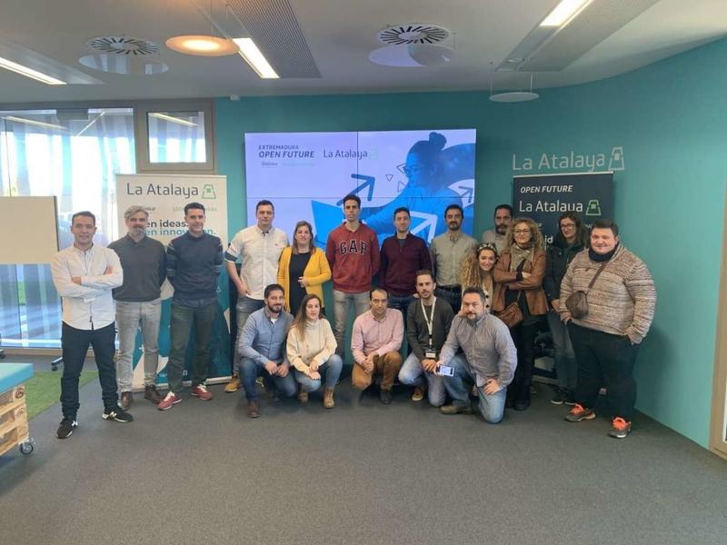 La Junta de Extremadura y Telefónica seleccionan siete nuevos proyectos TIC para participar en el programa de aceleración para startups 'Open Future'