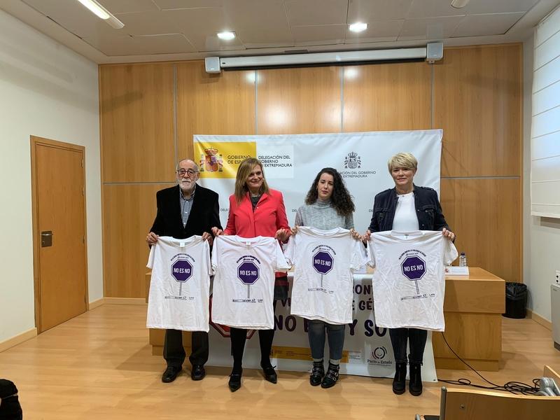 La Delegación del Gobierno impulsa una campaña para concienciar contra la violencia de género en el mundo del deporte