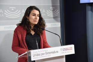 Irene de Miguel: ''El gobierno de Vara se ha bajado los pantalones ante Fomento al volver a pagar 2 millones de euros por un tren indigno''