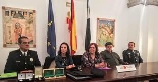 Begoña García destaca la profesionalización de la policía local en Extremadura y anima a la incorporación de más mujeres
