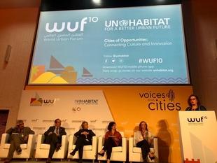 Eulalia Moreno aboga en Abu Dhabi por una política urbanística basada en la simplificación, la transparencia y la participación