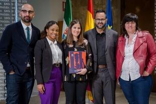 Gil Rosiña recibe a representantes de la lucha contra la violencia hacia mujeres lesbianas, bisexuales y trans de Colombia