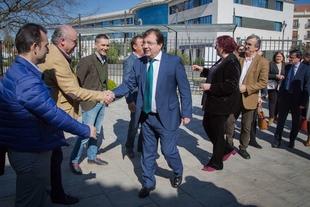 Fernández Vara resalta el esfuerzo y el trabajo de los productores de aceite de oliva para lograr productos de calidad